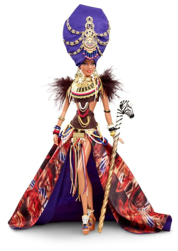 tribal beauty barbie doll � dolls pro
